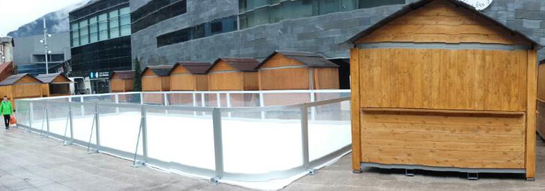 alquiler de pista de hielo