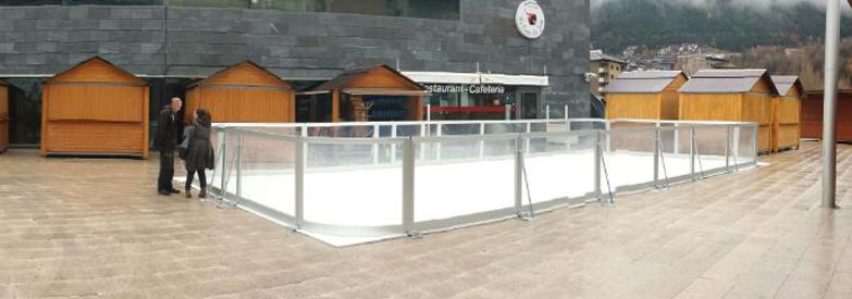 alquiler de pistas de hielo